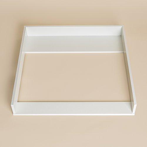 fasciatoio adatto a tutte le cassettiere ikea malm bianco senza cassettone. Black Bedroom Furniture Sets. Home Design Ideas
