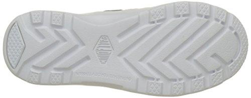 Palladium Pallaville Hi Deux, Sneakers Basses Mixte Adulte Bleu (Indigo/white/white)