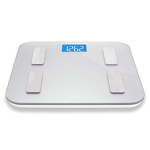 ZUZU Digitales Körpergewicht Badezimmerwaage Bluetooth Körperfett Smart Bmi Digitales Badezimmer Drahtlose Waage