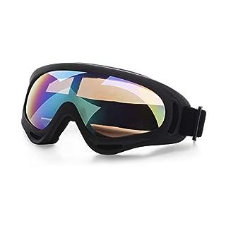 VANSENG Draussen Radsport-Brillen Sportbrillen Outdoor-Schutzbrillen X400 Motorrad Taktische Windschutzscheibe CS Skibrille