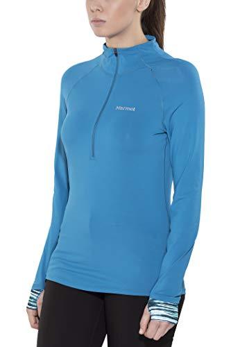 Marmot Excel 1/2 Zip Women Slate Blue/Celtic Sprint Größe XS 2017 Midlayer - Sprint 1/2 Zip