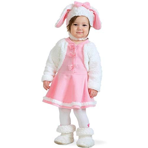 Fritz Fries & Söhne GmbH & Co Kinder Kostüm Schaf Emma Größe 98 Baby Lamm Ostern Fasching - Schaf Kostüm Für Kleinkind