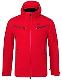 Kjus Formula - Chaqueta de esquí para Hombre, Mujer, Color Rojo (Scarlet)