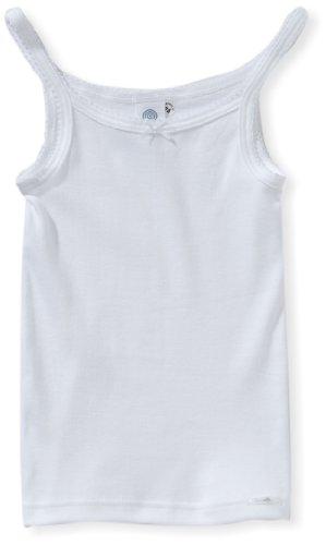 Sanetta - Camiseta interior para niña, talla 4 años (104 cm), color blanco 010