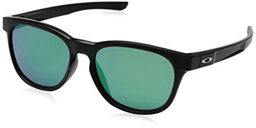 Oakley Herren Sonnenbrille Stringer Schwarz (Matte Black/Jadeiridium), 55
