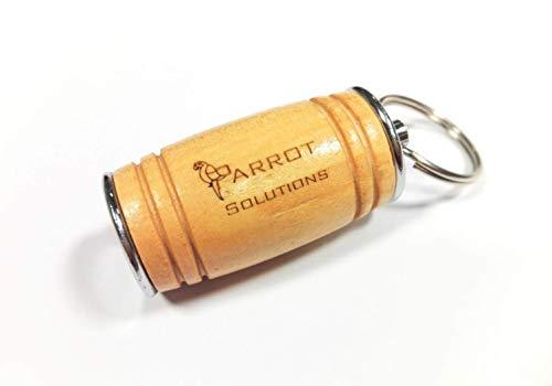 Pen Drive Chiavetta USB 32gb 3.0 Legno Wood Oak Barrel Quercia Botte Acciaio Steel Flash Memory Anello Portachiavi