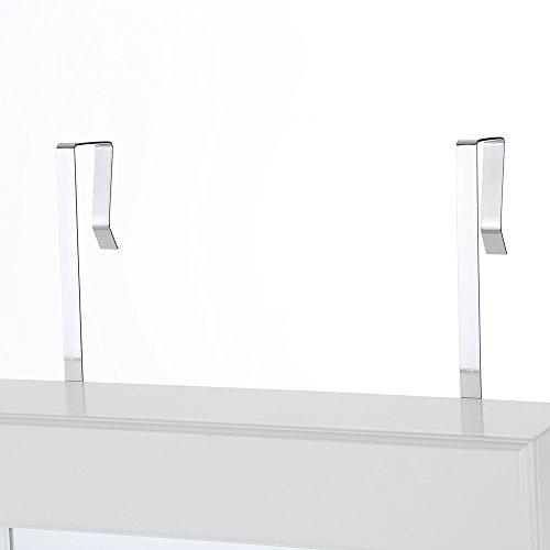 iKayaa Hängend Spiegelschrank Schmuckschrank Türmontage/Wandmontage 119 x 35 x 9 cm - 8