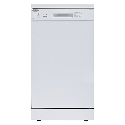 31LpmFa9CrL. SS500  - Belling FDW90 Extra Efficient 9 Place Slimline Freestanding Dishwasher White