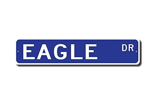 C-US-lmf379581 Adler Geschenk-Adler Adler Adler Dekor Adler Experte Greifvogel Usa Emblem Eagle Lover Custom Street Sign Qualitätsschild Metallschild -