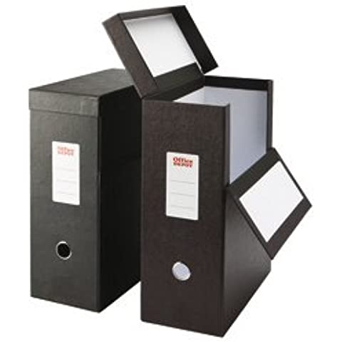 Caja de almacenaje, tamaño folio, soporte en vertical, precio por unidad