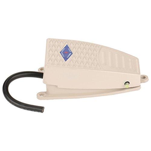 Fußschalter, Aluminium Gehäuse Schließer Momentane Kontaktsteuerung Fußschalter für Kompatibel Elektrowerkzeug