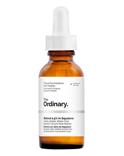 Sérum Facial Antiedad - Retinol 0.5% in Squalane - 30 ml - The Ordinary