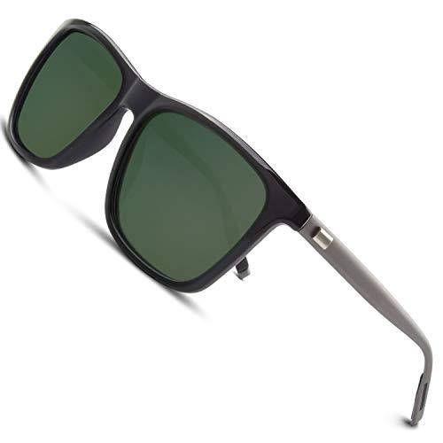 GQUEEN Gafas de sol polarizadas Clásico Retro para Hombre y Mujer UV400 GQ33