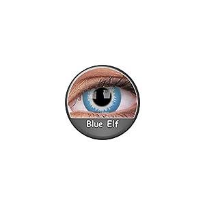 Kontaktlinsen Festive ohne Stärke Phantasee Modell Fancy Lens 14mm Blue Elf