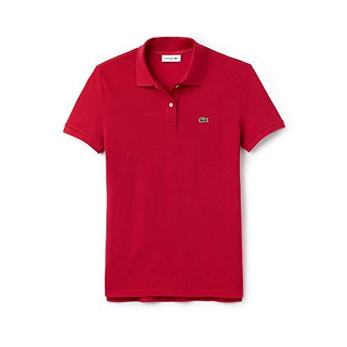 Lacoste Damen Poloshirt Gr. 40, Rosa