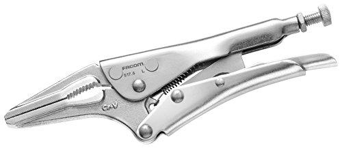 Preisvergleich Produktbild FACOM Gripzange mit langen Backen mit Schraubeneinstellungmax.Spannbe. 55mm,165mm LG, 1 Stück , 517.6