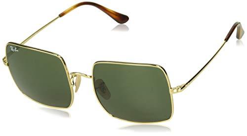 Ray-Ban Unisex-Erwachsene RB1971 Sonnenbrille, Gold, 54