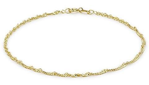IBB - 1.23.0471 - Bracelet Femme - Or jaune 9 carats 0.71 grams