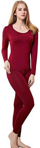Thermal Underwear Women Ultra-Soft Long Johns Set Base Layer Skiing Winter Warm Top & Bott