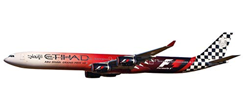 Herpa/Snap-Fit 611084 Etihad Airways Airbus A340-600