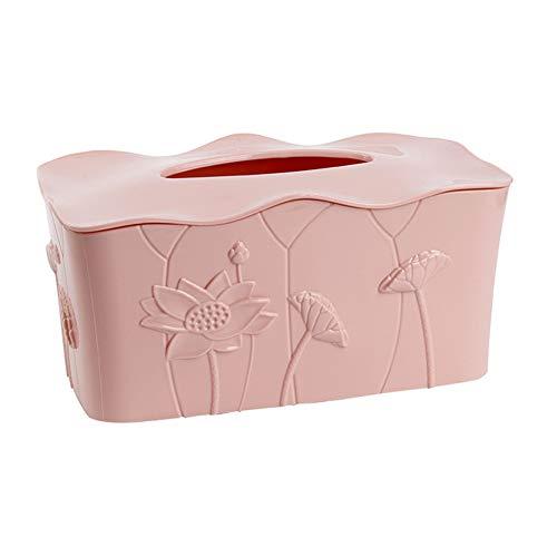LJLJX Plastic Tissue Box Cove, Facial Cube Tissue Box Holder, pour Salle De Bains Vanity Countertop, Commode De Chambre À Coucher, Bureau Ou Table De Nuit,G