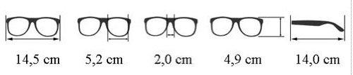 SODIAL(R) OCCHIALI DA SOLE UV400 NERI VINTAGE RETRO ANNI 80 NUOVI