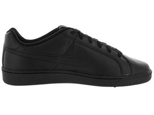 Nike COURT ROYALE Schwarz Leder Herren Sneakers Schuhe Neu Black