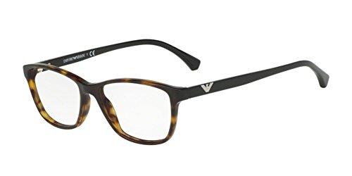 Ray-Ban Damen 0EA3099 Brillengestelle, Braun (Dark Havana), 54