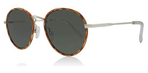 Le Specs LSP1802187 Vintage Tort Vintage Tort Zephyr Deux Round Sunglasses Lens Category 3 Size 52mm