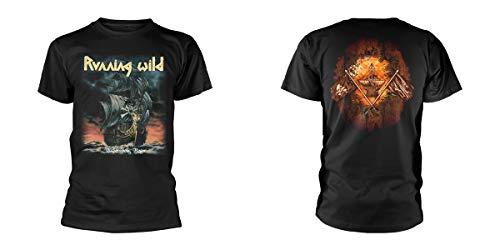 Running Wild Under Jolly Roger (Album) T-Shirt XL, gebraucht gebraucht kaufen  Wird an jeden Ort in Deutschland
