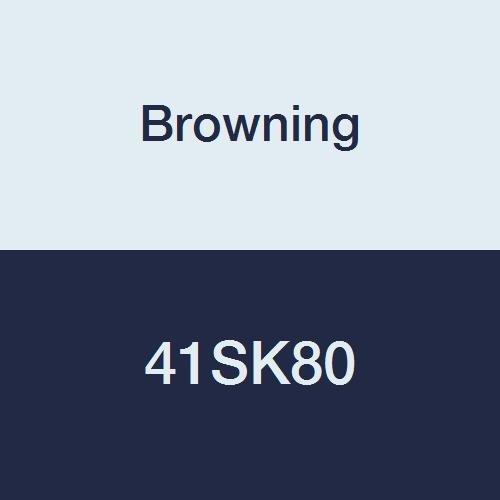 Browning 41sk80Roller Kettenrad, Single Strand, q-d, gebürstetem, Stahl, 41-pitch, 80Zähne -