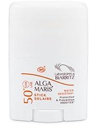 Les Laboratoires de Biarritz Algamaris - Stick solaire SPF50+ certifié Bio