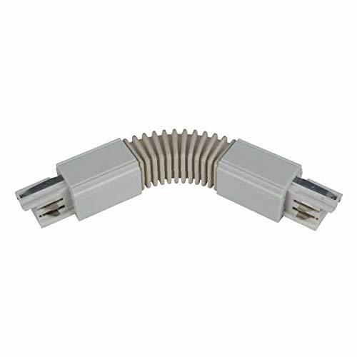 3-Phasenstromschiene Universal Flex-Verbinder weiß -