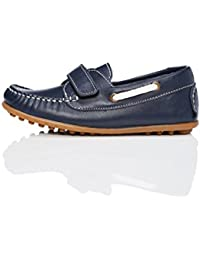 RED WAGON Boys' Leather Boat Shoes