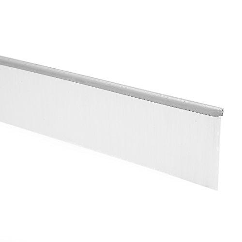 sourcingmap 40-zoll x 1,6-Zoll Tür Boden Fegen Nylon Pinsel Einsatz Siegel weiß - Nylon Pinsel Tür Fegen