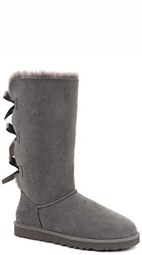 Ugg Australia Bailey Bow Tall Daim Botte Grey