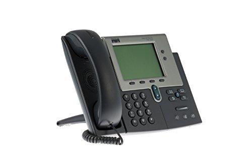 Cisco IP Phone 7941G - VoIP phone - SCCP (Certified Refurbished)