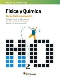 FÍSICA Y QUÍMICA FORMULACIÓN INOGÁNICA - 9788468086910 por Aa.Vv.