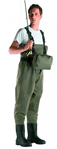 Cormoran Wathose 9507 Nylon PVC mit Tasche Gr. 44 95-07444