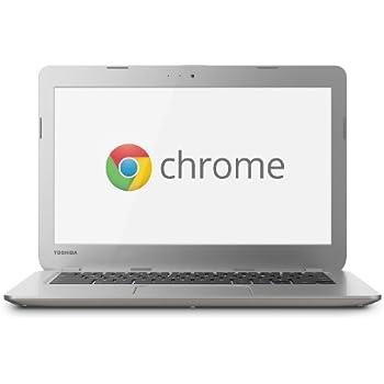 Toshiba CB30-102 33,7 cm (13,3 Zoll) Chromebook (Intel Celeron 2955U, 1,4GHz, 2GB RAM, 16GB SSD, Intel HD, Chrome) silber