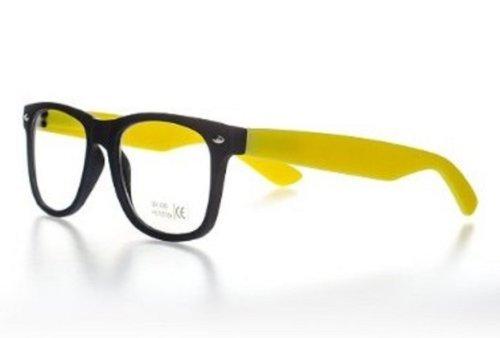4sold Lesebrillen Sonnenbrille Brille Atzenbrille Nerd Brille Klar oder als Nerdbrille in...