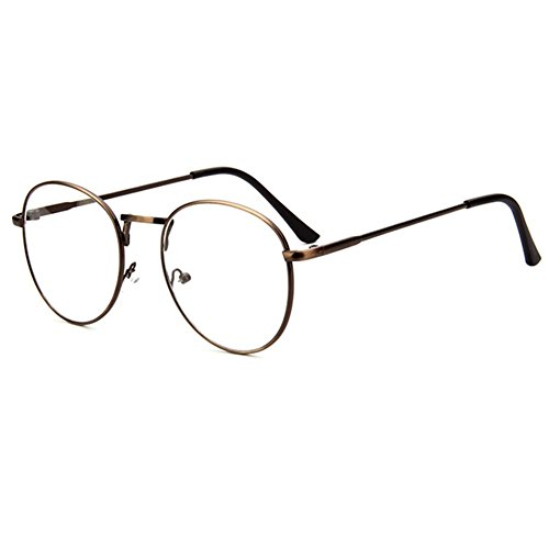 z-p-unisex-glasses-wayfarer-new-style-retro-round-metal-thin-edge-frame-clear-lens-glasses