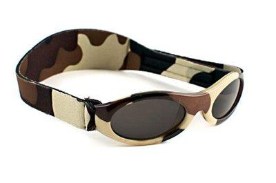 Baby Banz Adventure Sunglasses (Brown Camo, 0-2 Years)