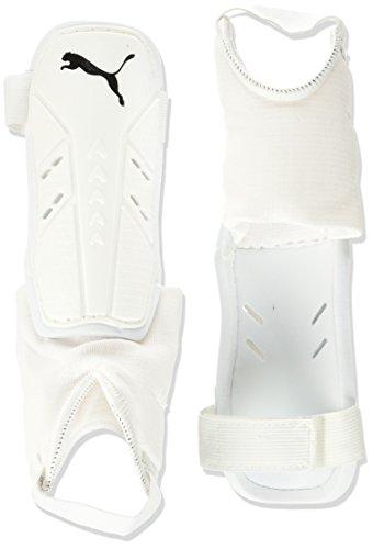 Puma Pro Training 2 grd + Ankle Schienbeinschoner White Black, M