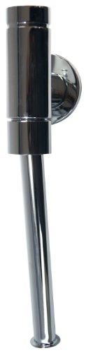 """SCHELL 024760699 Urinal-Spülarmatur SCHELLOMAT BASIC, DN15 , Urinal Druckspüler ½"""", mit Drucktaster , max. 0,3l/s, 0,8 - 5bar, 1 - 6l , Spülrohr ,18 x 200mm, Rosette, Spülrohr-Innenverbinder, ohne Absperrventil"""