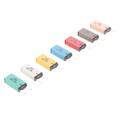 Mini Circuit Breaker (Baoblaze 5A 7.5A 10A 15A 20A 25A 30A Automatik Mini Circuit Breaker Blade Sicherungen Aftermarket-teil)