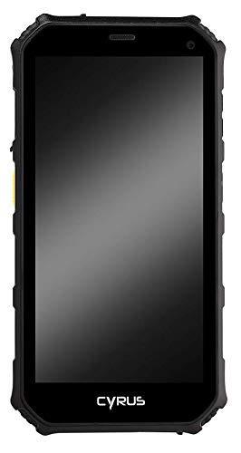 Cyrus CS24 WORK Outdoor Smartphone, 5000 mAH Akku, Android 7.0 Nougat, 5 Zoll, 16 GB, Dual SIM, 13 MP Kamera, stoßfest, staubdicht, wasserdicht, schwarz (Generalüberholt)