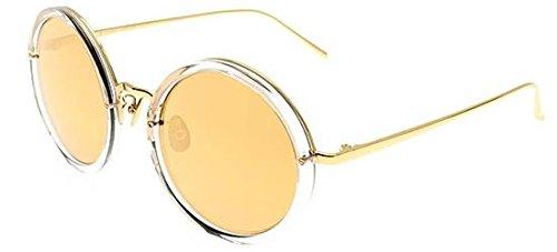 Linda Farrow Sonnenbrillen 239 CLEAR YELLOW GOLD CLEAR YELLOW GOLD/GOLD MIRROR Damenbrillen