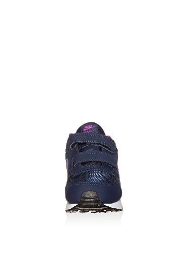 Nike Unisex-Kinder 807328-401 Trail Runnins Sneakers midnight navy-hyper violet-blue tint (807328-401)