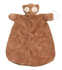 Angel Dear Teether Blankie (Sleepy Owl)